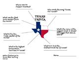 Texas Trivia Online Scavenger Hunt