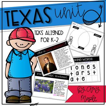 Texas Unit for Grades K-2
