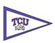 Texas University Pennants