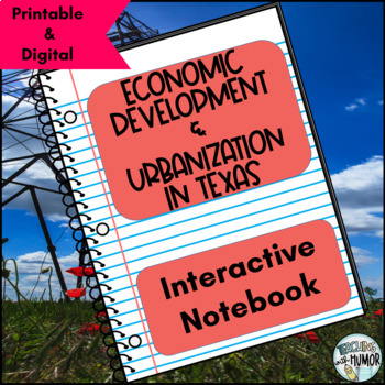 Texas Urbanization INTERACTIVE NOTEBOOK