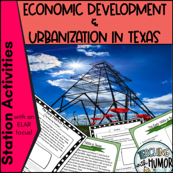 Texas Urbanization LITERACY ACTIVITY