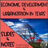 Texas Urbanization POWERPOINT & NOTES - Distance learning