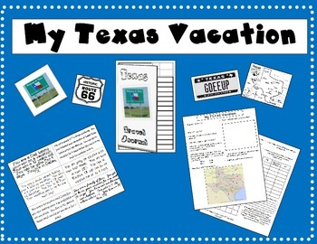 Texas Vacations Plans and Travel Journal Assignment