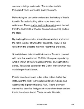 Texas: Volume 1 - History and Facts