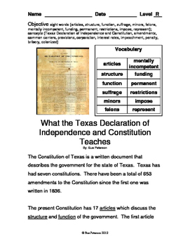 Texas: Volume 2 - History and People