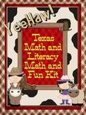 Texas Western Rodeo Literacy and Math Fun Kit (Printable bundles)
