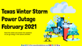 Texas Winter Storm 2021 ELAR Activity Google Slides for Go