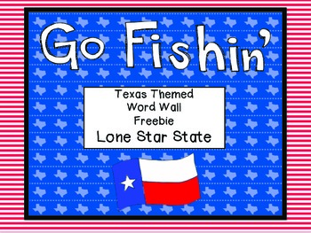 Freebie - Texas Word Wall Freebie