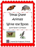 Texas Write and Stamp the Room