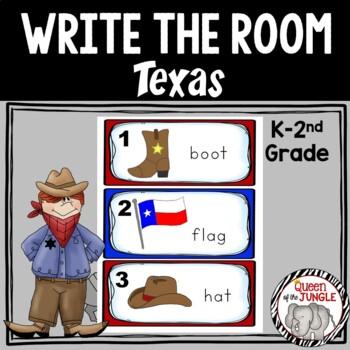Texas Write the Room