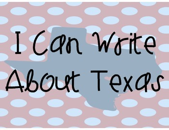 Texas Writing