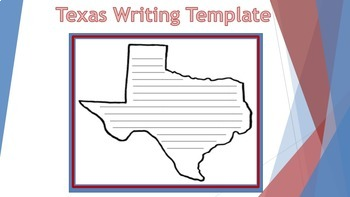 Texas Writing Template