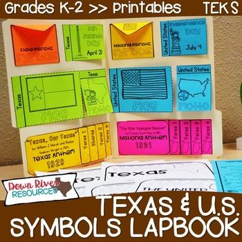 Texas and U.S. Symbols, Anthems, Mottoes, & Pledges Lapbook