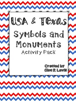 Texas and USA Symbols and Monuments
