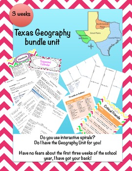 Texas and the 5 Themes of Geography (PBL)
