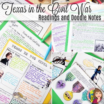 Texas And The Civil War Worksheets & Teaching Resources | TpT