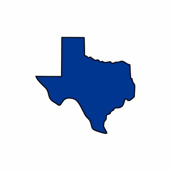 Texas-sized Texas Shape Clip Art Pack (Personal or Commercial Use)