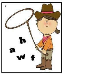 Texas/Cowboy Math and Lliteracy