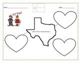 Texas/Western Writing Theme Activity