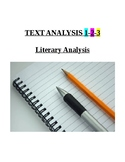 Text Analysis 1-2-3: Scaffolded Literary Analysis Practice