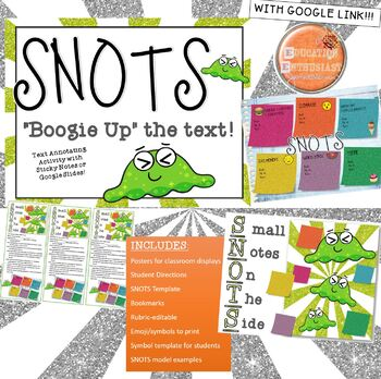 Text Annotating with SNOTS-Boogie Up the Text