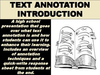 Text Annotation Introduction