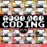 Text Art Coding BUNDLE:  Over 160+ ASCII Text Art Coding C