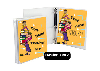 Text Band Strategy Organizer