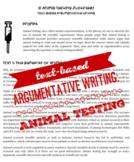 Text-Based Argumentative Writing: Animal Testing
