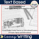 Text Based Essay Writing - International Economy