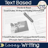 Text Based Essay Writing - Market Economy