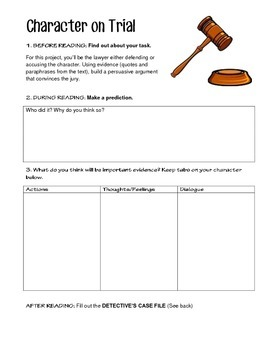 Text Based Evidence Activity - NO PREP - Use with Any Text!