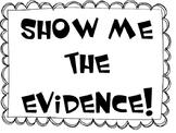 Text Based Evidence Sentence Starters