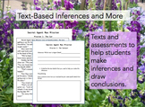 Text-Based Inferences and More