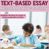 Text-Based Informational Essay Writing Prompt | Children I