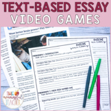 Text-Based Informational Essay Writing Prompt | Video Games