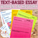 Text-Based Informational Essay Writing Prompt | Women in History
