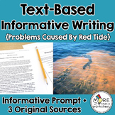 Text-Based Informative Writing Practice--Florida Red Tide