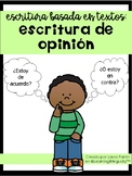 Text Based Opinion Writing in Spanish