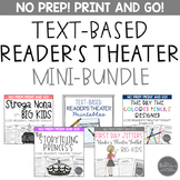 Text-Based Reader's Theater Mini-Bundle for Grades 4-8 Com