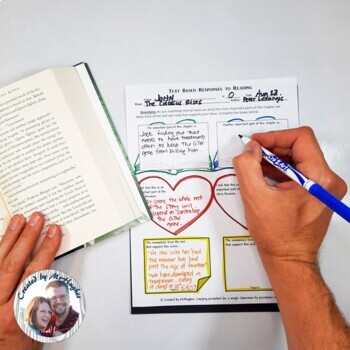 Text Based Responses to Reading {Fiction Edition}