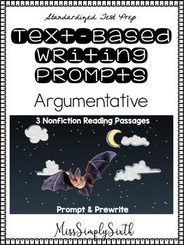 Text Based Argumentative Writing