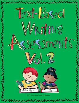 Text-Based Writing Performance Task or Writing in Response