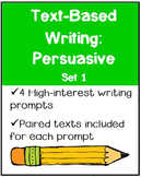 Text-Based Writing: Persuasive Set 1