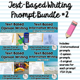 Text-Based Writing Prompts Bundle #2