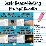 Text-Based Writing Prompts Bundle