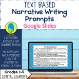 Text Based Writing Prompts for Google Slides- Narrative