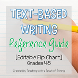 Text-Based Writing Reference Guide - Flip Chart (Editable)
