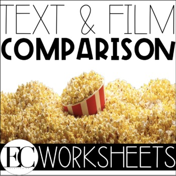 Text (Book) and Film (Movie) Comparison Worksheet