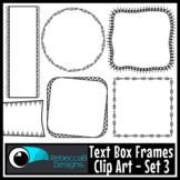 Text Box Frames Clip Art Set 3